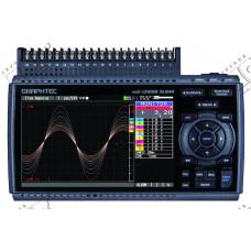 Портативный, универсальный, 20-канальный измеритель-регистратор параметров GL840